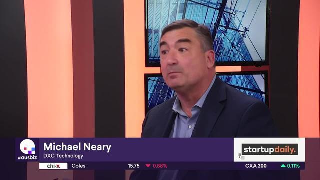 AusBiz.com hosts interview Michael Neary, DXC Technology, about the insurtech competition